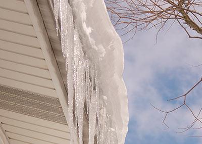 Ice Dam Prevention In Loves Park Rockford Belvidere